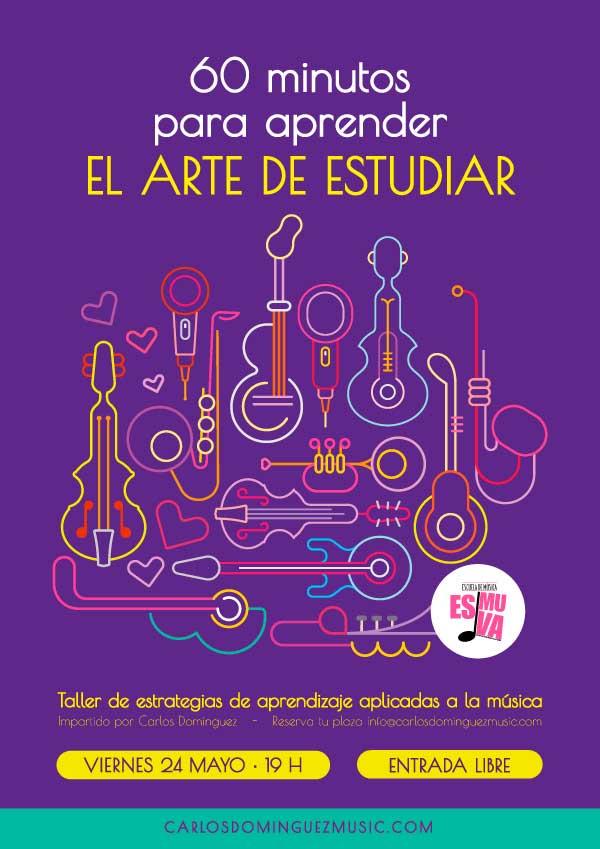 cartel-taller-tecnicas-estudio-Carlos-Dominguez